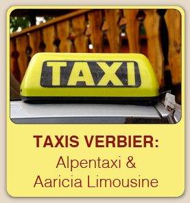 Taxis Verbier: Alpentaxi & Aaricia Limousine